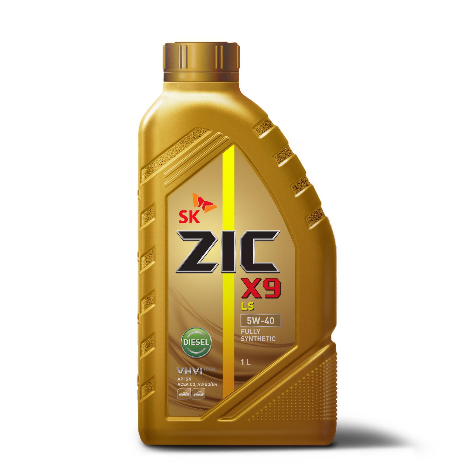 Олива ZIC X9 LS 5W-40 Diesel 1л