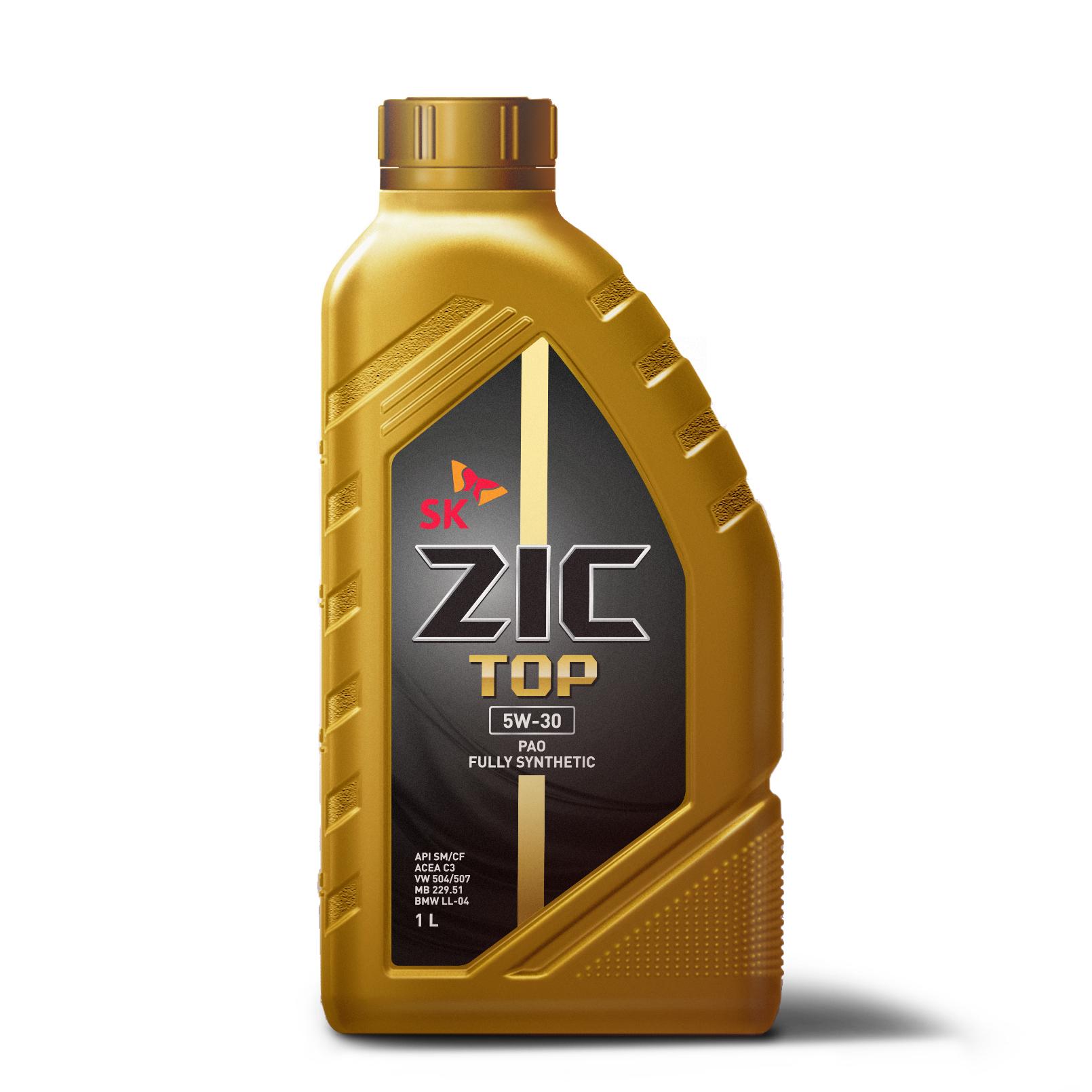 Олива ZIC TOP 5W-30 1л