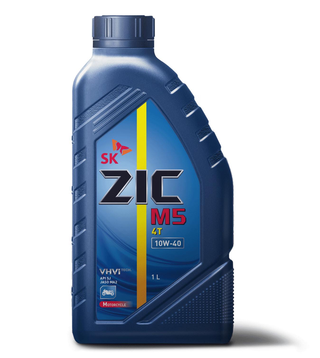 Олива ZIC M5 4T 10W-40 1л