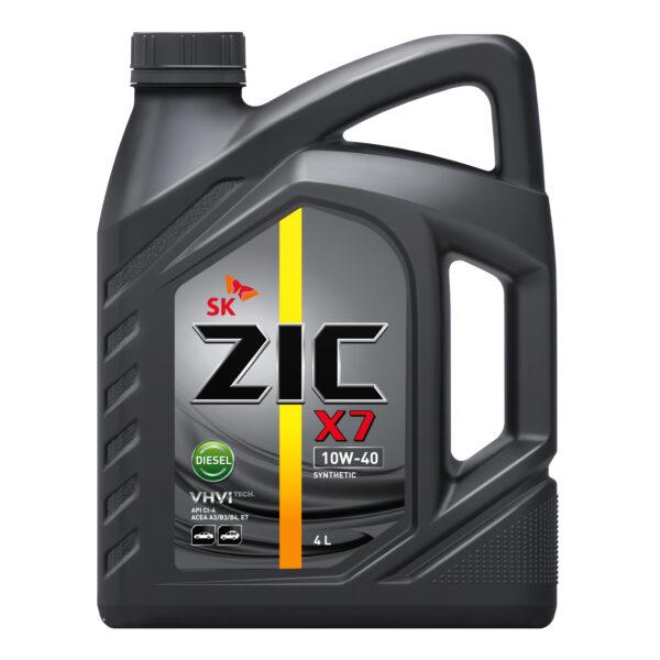 Олива ZIC X7 10W-40 Diesel 4л