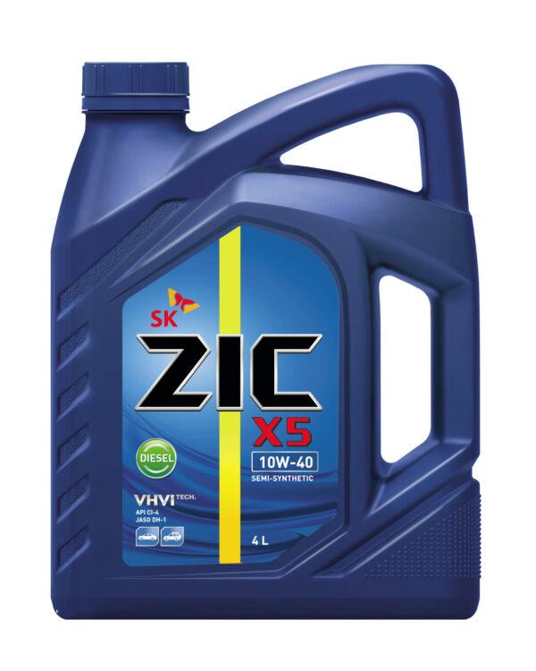 Олива ZIC X5 10W-40 Diesel 4л