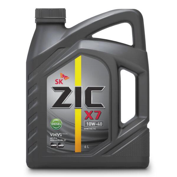 Олива ZIC X7 10W-40 Diesel 6л