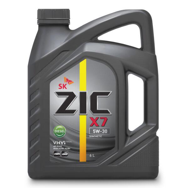 Олива ZIC X7 5W-30 Diesel 6л