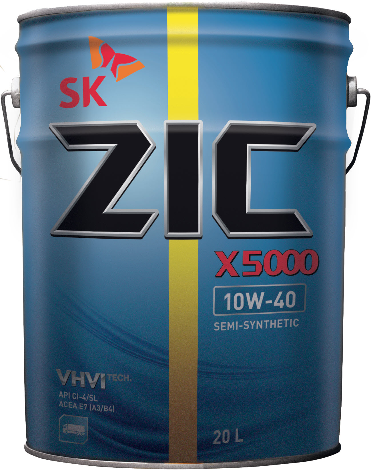 Олива ZIC X5000 10W-40 20л